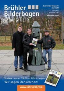 """Das Team des """"neuen"""" Brühler Bilderbogen im November 2007"""