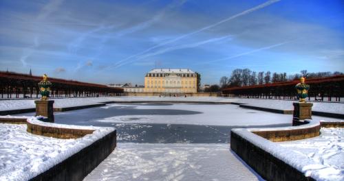 Schloss Augustusburg im Winter