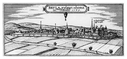 Brühl im Jahre 1573