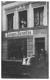 Geburtshaus von Jakob Sonntag in der Uhlstraße
