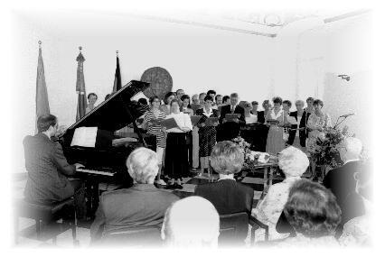 Festlicher und musikalischer Rahmen der Feierstunde