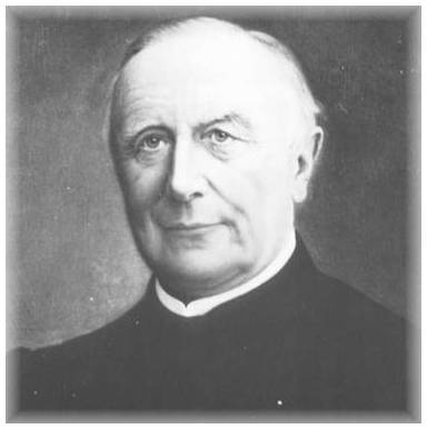 Der Brühler Ehrenbrüger Dechant Richard Bertram