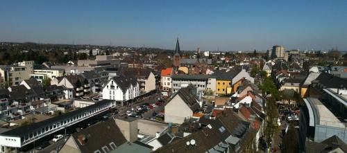 Blick über Brühl in Richtung Norden